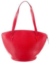 Louis Vuitton - Epi St. Jacques Shopping Gm Rouge - Lyst