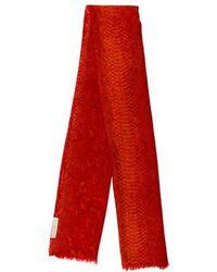 Stella McCartney - Printed Fringe Scarf - Lyst