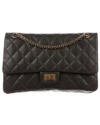Chanel - Reissue 226 Double Flap Bag Brown - Lyst