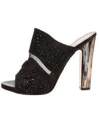 Maiyet - Embellished Mule Sandals - Lyst