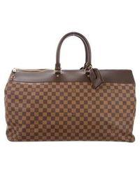 Louis Vuitton - Damier Greenwich Gm Travel Bag Brown - Lyst