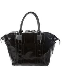 Rachel Zoe - Morrison Leather Bag Black - Lyst