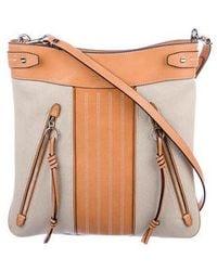 7b4b4ec2cf2 Lyst - Tory Burch Embellished Handle Bag Multicolor in Metallic
