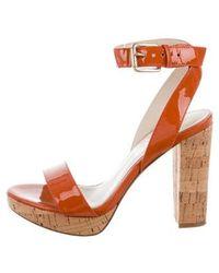 Kors by Michael Kors - Kors By Michael High-heel Platform Sandals Orange - Lyst