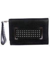 Thomas Wylde - Studded Leather Crossbody Bag Black - Lyst