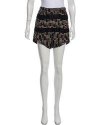 Zero + Maria Cornejo - High-rise Mini Shorts - Lyst