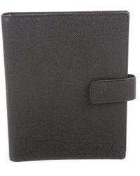Louis Vuitton - Large Taiga Agenda Cover Black - Lyst
