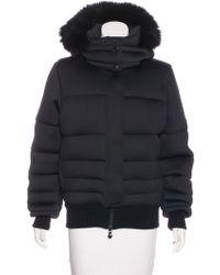 Pyrenex - Neoprene Down Jacket Black - Lyst