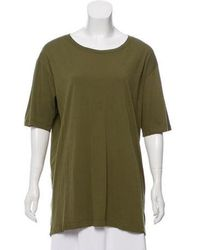 Dries Van Noten - Crew Neck Short Sleeve T-shirt Olive - Lyst