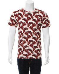 Marc Jacobs - Hawaiian Print T-shirt - Lyst
