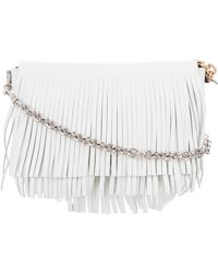 Proenza Schouler - Small Fringe Courier Bag White - Lyst