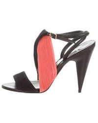 Pierre Hardy - Bi-color Pleated Sandals - Lyst