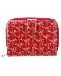 Goyard - Ine Tuileries Wallet Red - Lyst