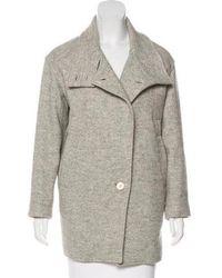 IRO - Wool-blend Coat Grey - Lyst