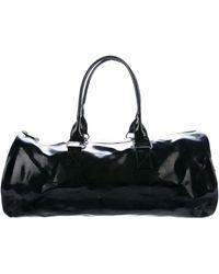 Marc Jacobs - Patent Leather Duffel Bag Black - Lyst