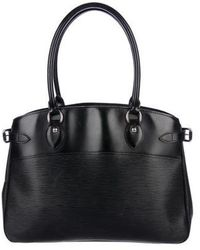 Louis Vuitton - Epi Passy Gm Black - Lyst