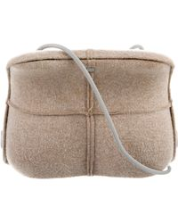Chanel - Identification Wool 2005 Bag Tan - Lyst