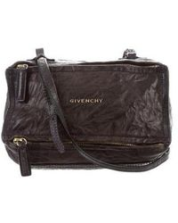 43dbe7bc75 Givenchy - Mini Pandora Crossbody Bag Black - Lyst