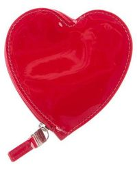 Tiffany & Co. - Heart Coin Purse Red - Lyst