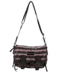 Sonia Rykiel - Leather-trimmed Nylon Bag - Lyst