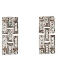 Cartier - Maillon Panthère Earrings White - Lyst