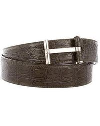 Tom Ford - 2018 Crocodile Belt W/ Tags Green - Lyst