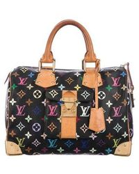 Louis Vuitton - Multicolore Speedy 30 Black - Lyst