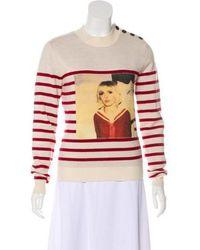 Each x Other - Wool Striped Sweater Beige - Lyst
