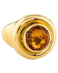 Tiffany & Co. - 18k Citrine Ring Yellow - Lyst