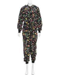 3.1 Phillip Lim - Printed Silk Jumpsuit - Lyst