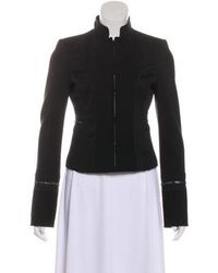 Alessandro Dell'acqua - Embellished Structured Jacket Black - Lyst