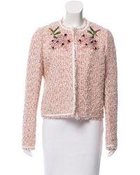 Giambattista Valli - 2017 Embellished Jacket Pink - Lyst