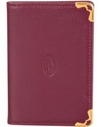 Cartier - Must De Leather Notepad Gold - Lyst