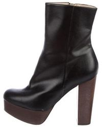 751f460c3c7 Lyst - Stella Mccartney Round-toe Mid-calf Boots in Black