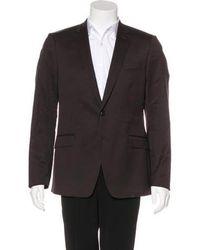 CoSTUME NATIONAL - Wool Blazer - Lyst