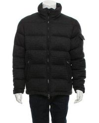Moncler - Montgenevre Quilted Puffer Jacket Grey - Lyst