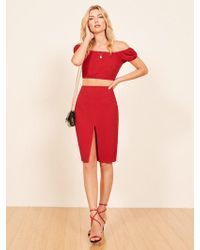 Reformation - Allora Two Piece - Lyst