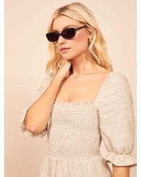 Reformation - Velvet Canyon Zou Bisou Sunglasses - Lyst