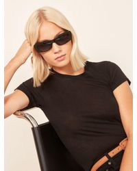 Reformation - Francoise Sunglasses - Lyst