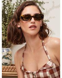 Reformation - Francoise Sunglasses - Lyst