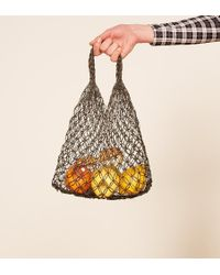 Reformation - Abaca Mini Eco Tote - Lyst