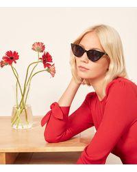Reformation - Patti Sunglasses - Lyst