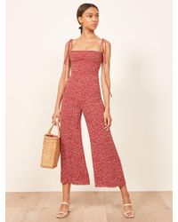 Reformation - Maxwell Jumpsuit - Lyst