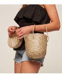 Reformation - Doen Phoebe Moroccan Basket Bag - Lyst