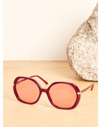 Reformation - Bianca Sunglasses - Lyst