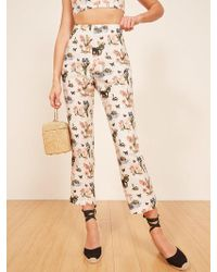 Reformation - Noble Pant - Lyst