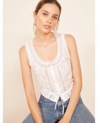 Reformation - Shakespeare Top - Lyst