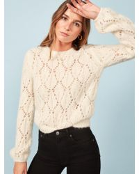 Reformation - Jessie Sweater - Lyst