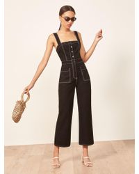 Reformation - Amory Jumpsuit - Lyst