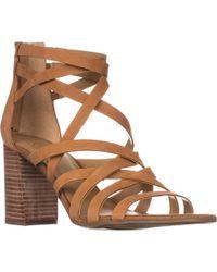 Franco Sarto - Madrid Strappy Heeled Sandals - Lyst